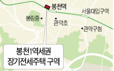 봉천1·면목1 역세권 장기전세구역 첫 해제