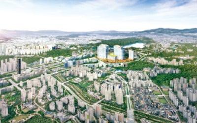 현대실리콘앨리 동탄, 동탄테크노밸리 내 대형 지식산업센터