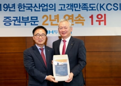 NH투자증권, 한국능률협회 고객만족도 증권부문 2년 연속 1위