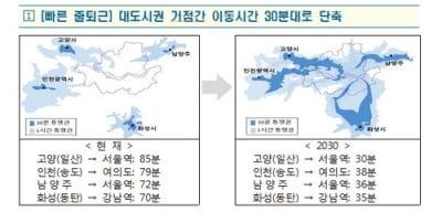 광역철도 고양선 식사지구ㆍ6·9호선 동북권 연장 검토