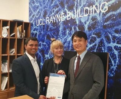 젠센, 런던 컬리지대학과 루프스 신약 후보물질 공동연구 업무협약