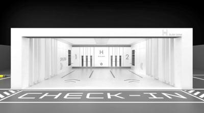 """""""아파트 주차장에서 셀프 세차""""…현대건설, 'H 오토존' 개발"""