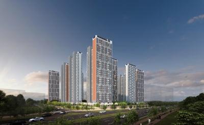 도심 속 공세권 아파트 'e편한세상 초지역 센트럴포레'
