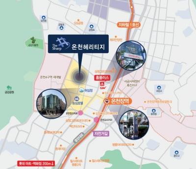 포스코건설, 부산 '더샵 온천헤리티지' 모델하우스 내일(27일) 개관