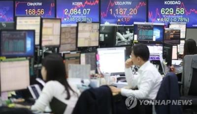미중 무역협상 관망…원/달러 환율 하락 출발