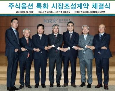 한국거래소, 주식옵션 시장조성 강화…6개 증권사 참여