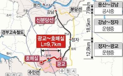 [속보] 신분당선 '광교~호매실' 예타 통과…2023년 착공