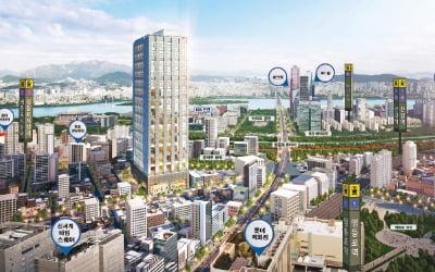 여의도 해링턴 타워 196, 영등포·신길·여의도 트리플 역세권