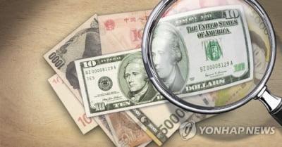 위안화 강세에 연동…원/달러 환율 하락 마감