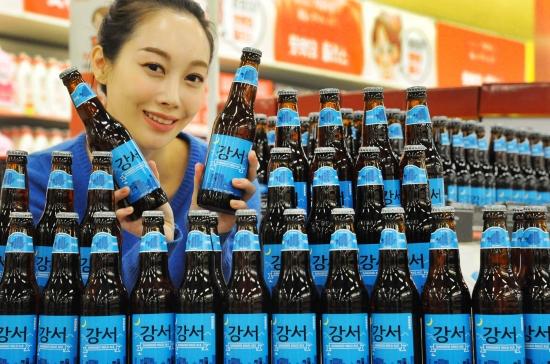 홈플러스, 세븐브로이 출시 '강서 에일 맥주' 판매