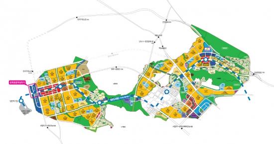 LH, 김포한강신도시 자족시설용지 분양