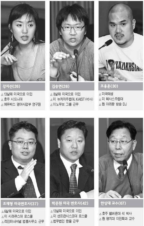 """국내서 활동중인 美이민 1.5세대 """"워드 성공도 조승희 범죄도 개인의 일"""""""