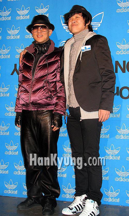 [아디다스] 구준엽-홍록기, '우리가 패션쇼에 빠지면 안되죠~'