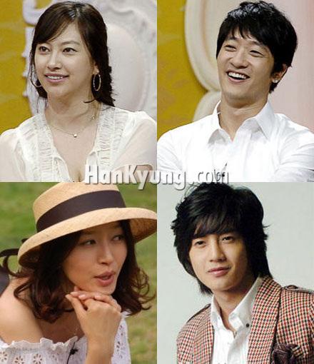'김현중-황보' 커플, '알렉스-신애' 이어 부부로 합류