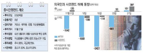 """""""시장 상황 급변땐 조기 투입할 것"""""""