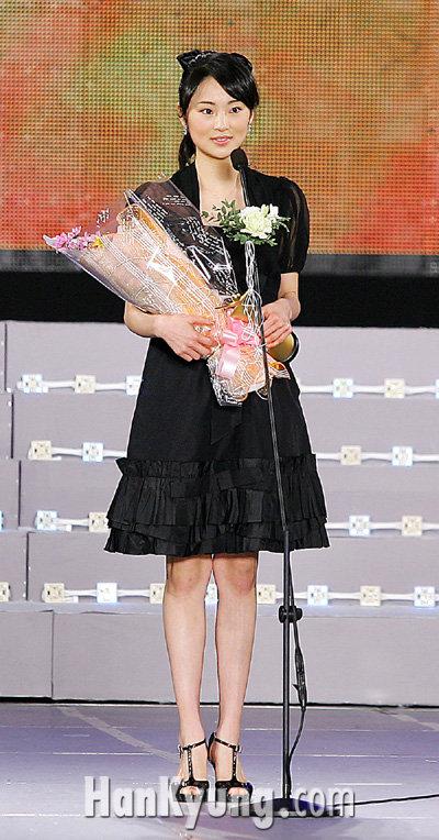 [포토] 하야시 탄탄, '국민 미소녀의 인사'