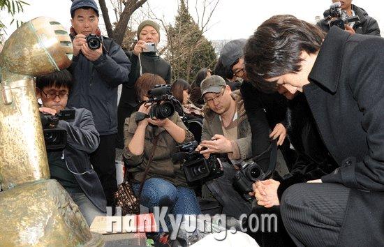 [포토] 이영훈 추모 '아버를 향한 기도'