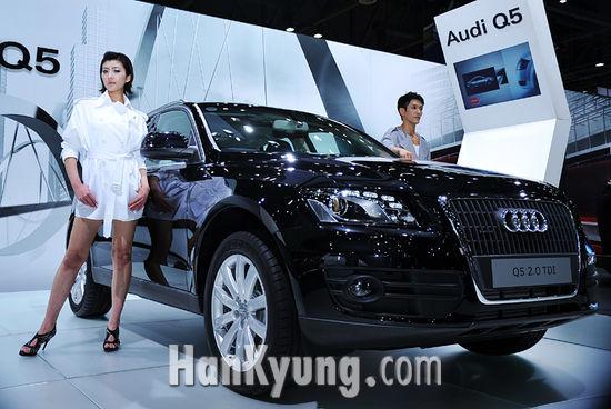 [포토] 활동적 라이프스타일 위한 'Audi Q5'