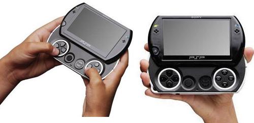 소니, 더 작아진 휴대용게임기 'PSP go' 출시