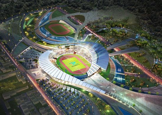 희림, 인천 아시아 주경기장 설계 계약(상보)