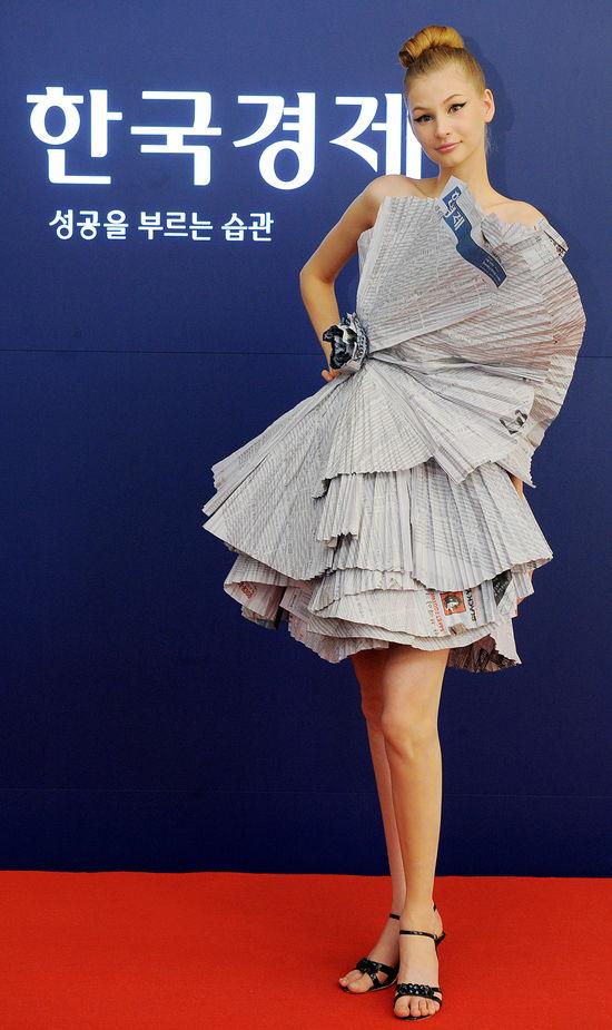 신문 드레스…한경 패션사이트 오픈