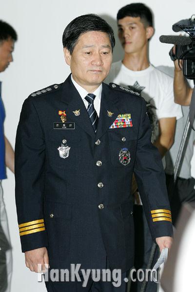 [포토] 분당경찰서, '김 前 대표의 수사상황 중간발표'
