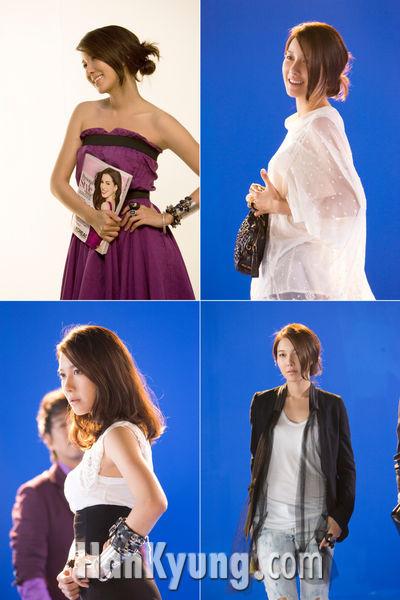 이지아, '스타일' 포스터서 4色 매력 발산