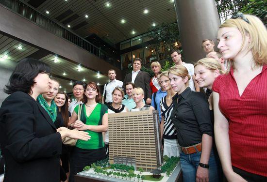 교보생명 찾아온 독일 MBA과정 학생