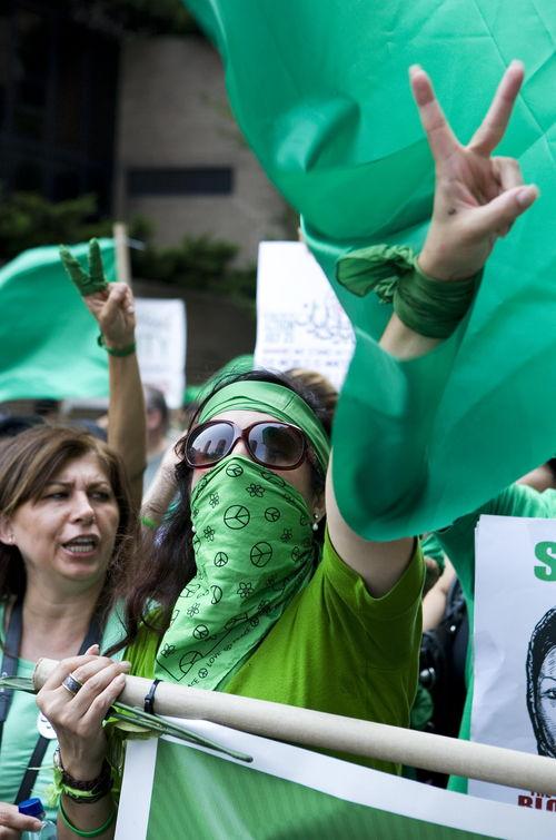 """""""인권탄압 중단하라"""" 80개국서 反이란 집회"""