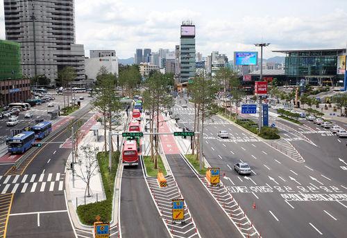 서울역 버스 환승센터 개통