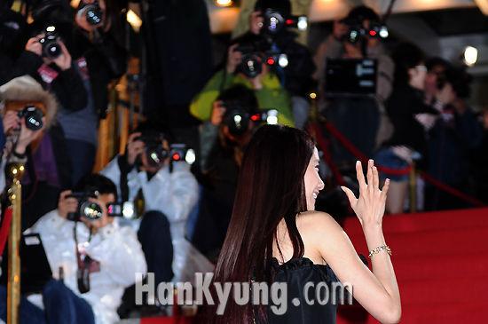 [포토] 소시 윤아, '뜨거운 취재열기도 OK!'