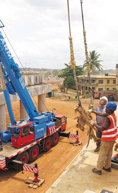[뉴 이머징마켓 아프리카] (4) 한국 179위 건설사 '아프리칸 드림'…가나 '대동맥' 뚫는다