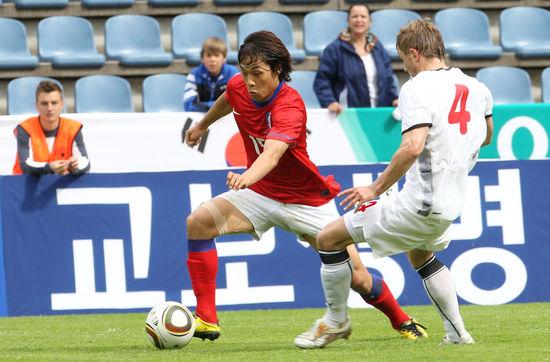 [한.벨라루스축구] 한국, 벨라루스에 무득점 석패