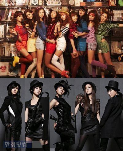 소녀시대-카라, 日 '홍백가합전' 출연 성사될까