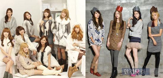 소녀시대-샤이니-f(x), 2011년 캘린더 출시