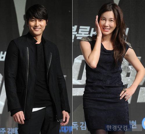 '연예계 스타 커플 탄생' 정우성, 이지아와 열애 인정
