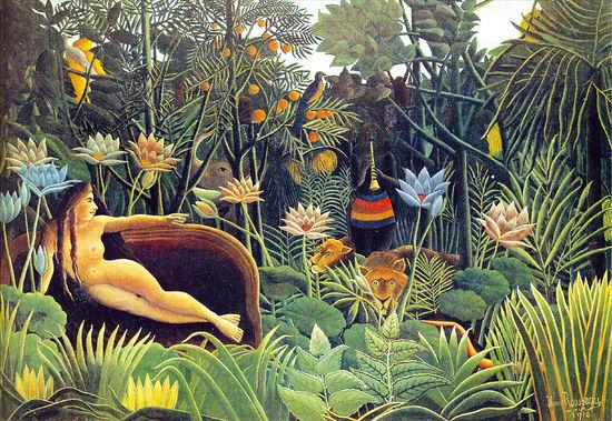 [그림 속의 선율] 野生의 밀림…원초적 본능 꿈꾸다