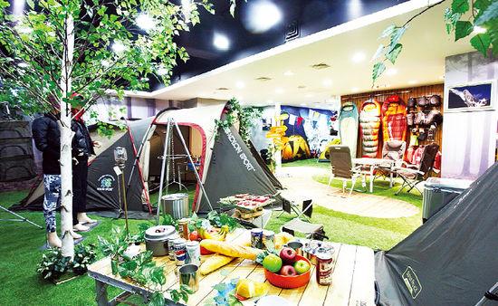 [Leisure&] 캠핑하기 좋은 계절…주말에 '코오롱 캠핑파크'로 떠나볼까