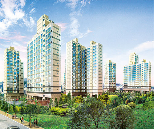 [Real Estate] 영등포역'계룡리슈빌', 소형아파트식 설계…전용률 크게 늘려