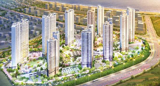 [Real Estate] '울산 블루마시티 2차 푸르지오', 모든 가구서 바다와 산 조망 '시원'