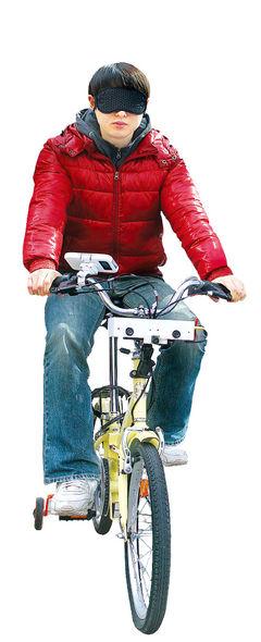 삼성 창의연구소 '기발한 탄생 2탄'…안구마우스 이어 시각장애인 자전거