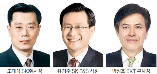 앞에 나선 조대식·유정준·박정호…SK '위기돌파 3인방' 행보 주목