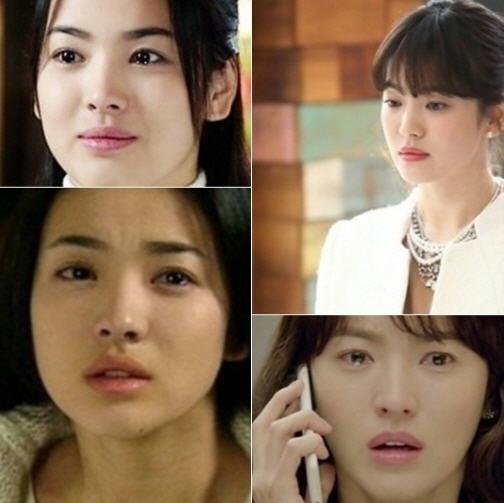 송혜교 13년 전 변함 없는 '방부제 외모' 화제