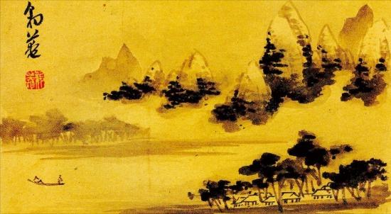 오는 12일부터 26일까지 열리는 간송미술관의 봄 특별전에 출품된 표암 강세황의 '운림귀조'.  /간송미술관 제공