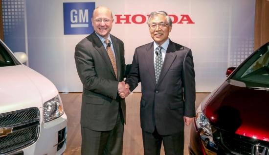 혼다-GM, 차세대 연료전지 개발위해 손잡는다