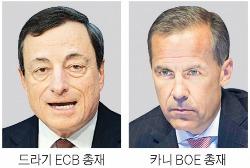 """ECB·BOE """"내 갈길 가련다""""…美·유럽 '출구 공조' 깨지나"""