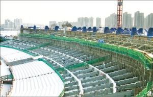 인천시 서구 연희동에 건설중인 인천아시안게임 주경기장.  /인천아시아경기대회 지원본부 제공