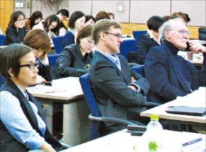 15일 서울대에서 열린 한국문학포럼.
