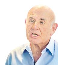 """[모험과 열정의 텔아비브를 가다] 야코브 페리 이스라엘 과기부 장관 """"뇌 건강 상태가 사람들 행복 좌우"""""""