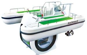 레저용 반잠수정 '펭귄' 중국 간다…라온하제, 첫 수출